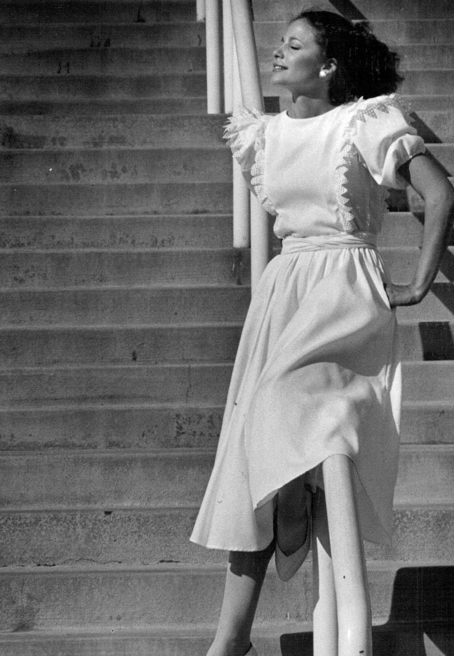 The Gunne Sax brand created Victorian-style 'prairie dresses' that dominated fashion in the 1970s (Credit: Getty Images)