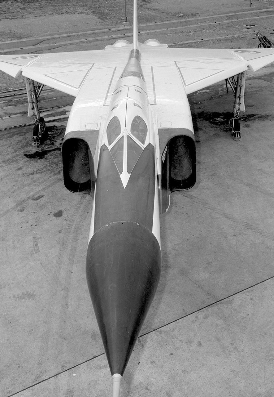 The aircraft's designers had had to make few compromises, which made the aircraft both cutting edge and expensive (Credit: Avro Canada/Canada Aviation and Space Museum)