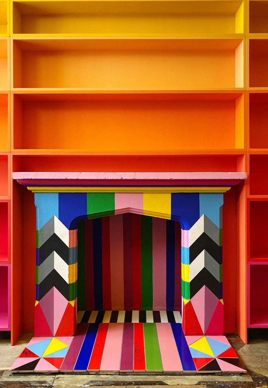 The designer Morag Myerscough's has been honing her trademark style for 30 years (Credit: Morag Myerscough)