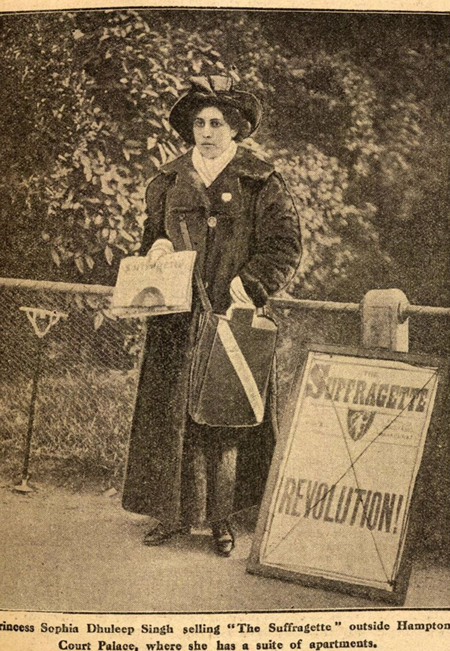 Sophia Duleep Singh became an activist fighting for women's rights in Britain as well as India (Credit: Alamy)