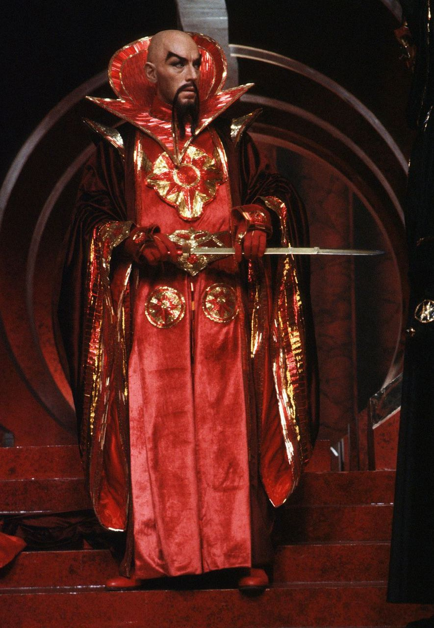 Ming the Merciless is now seen as an example of anti-Chinese sentiment (Credit: StudioCanal/Flash Gordon)