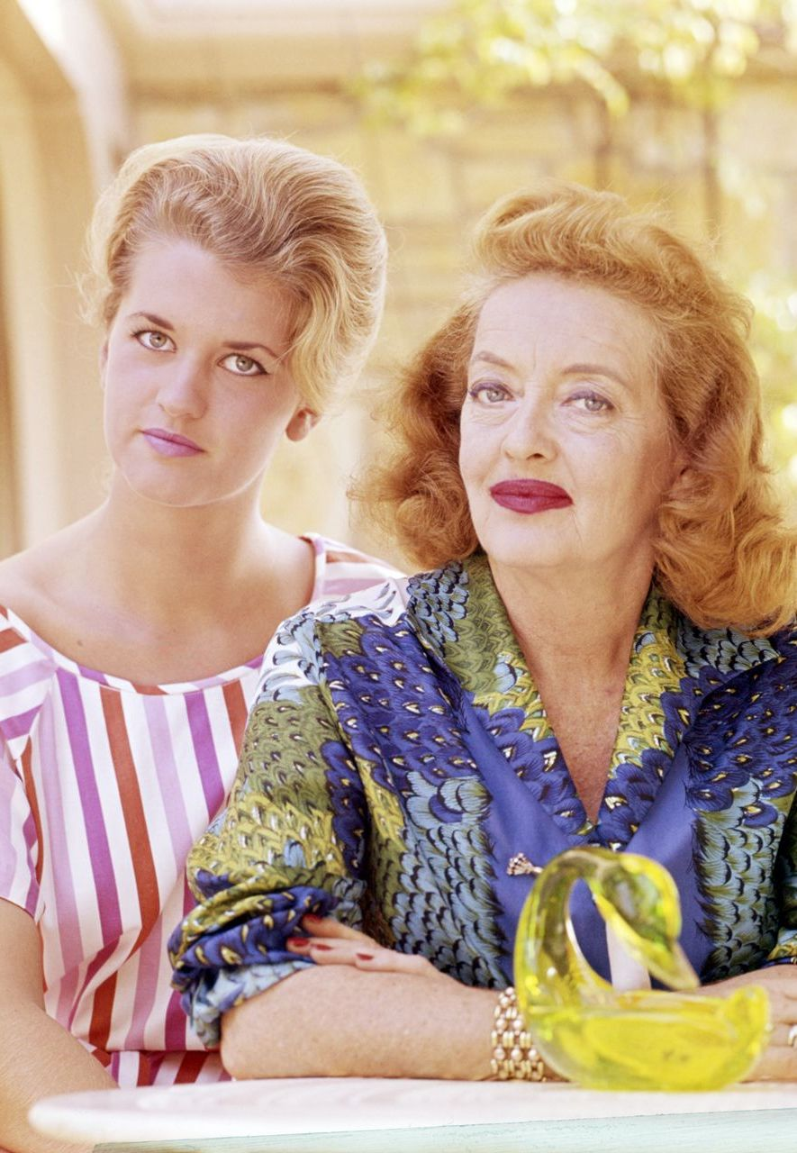 Bette Davis's daughter Barbara - later known as BD Hyman - presented her mother in a far from favourable light in My Mother's Keeper (Credit: Getty Images)