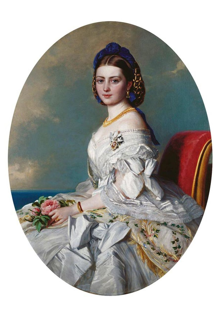 Queen Victoria's daughter Vicky, seen here in a 1863 portrait, is the subject of a new novel by Clare McHugh (Credit: Alamy)