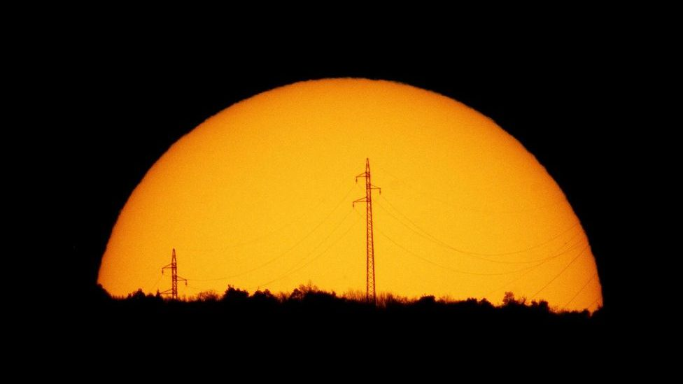 Many power grids are now designed to withstand the crippling shutdown experienced in Quebec in 1989 as a result of geomagnetic storms. (Copyright: Nasa)