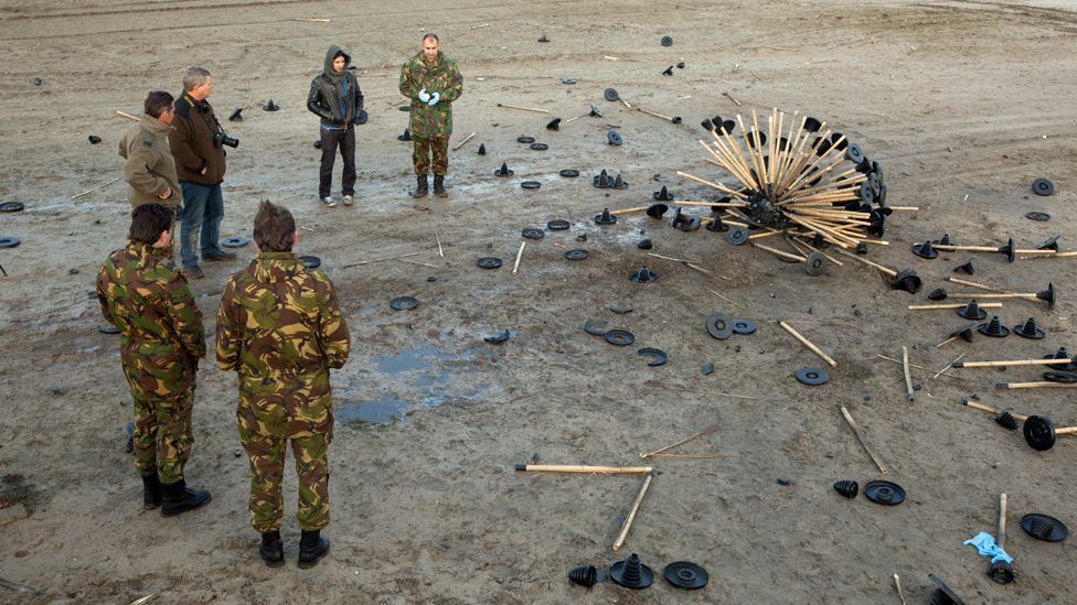 The tests concluded it was not suitable for clearance, but could be used as a cheap and safe way to identify dangerous areas that need demining. (Copyright: Massoud Hassani)