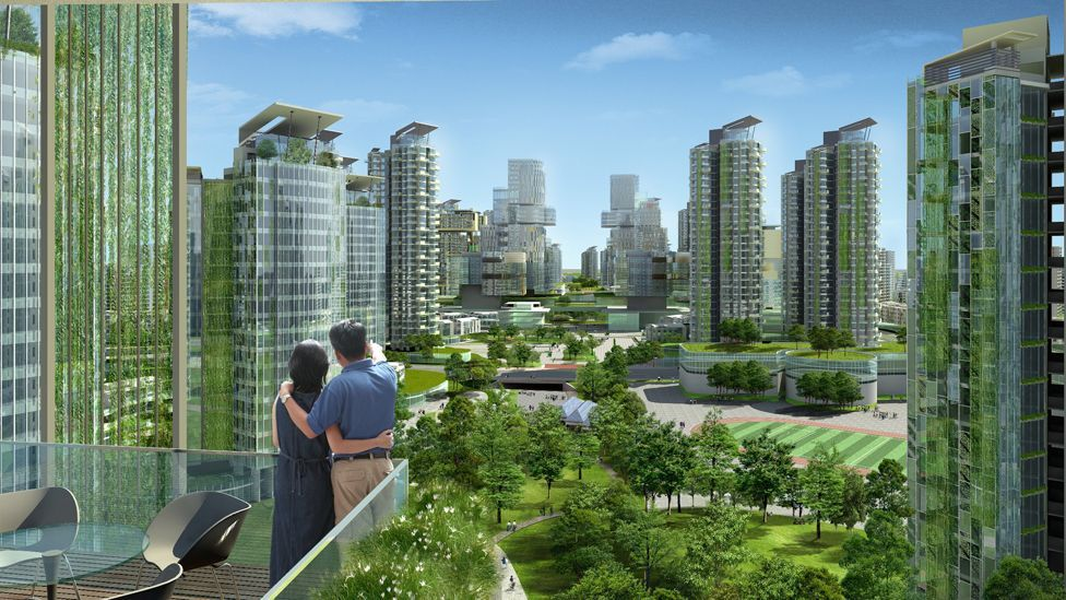 Tianjin Eco-city aims to house 350,000 people in a low-carbon, green environment by 2020. (Copyright: Sino-Singapore Tianjin Eco-city Development and Investment)