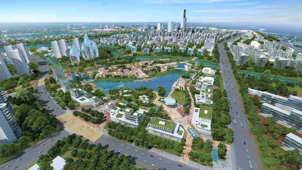 The team hope its model for building a sustainable city from polluted land will be copied by others. (Copyright: Sino-Singapore Tianjin Eco-city Development and Investment)