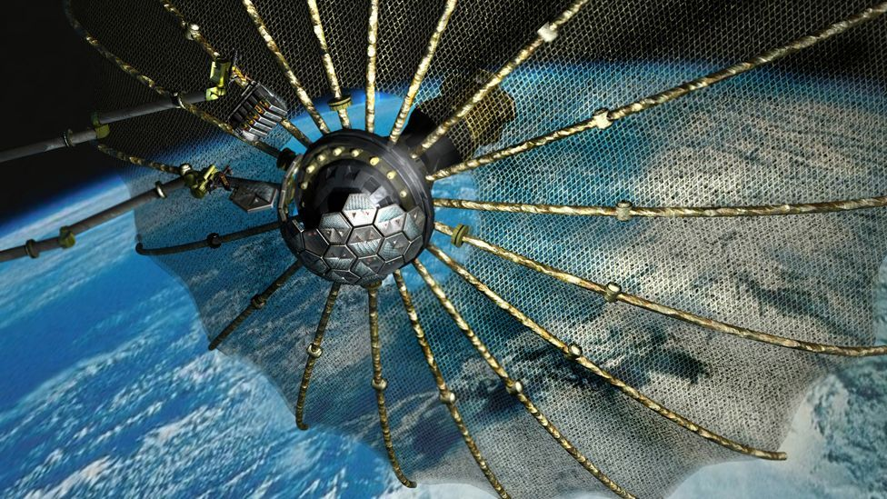 Darpa's proposed Phoenix spacecraft could salvage and reuse components in order to rebuild decommissioned satellites. (Copyright: Darpa)