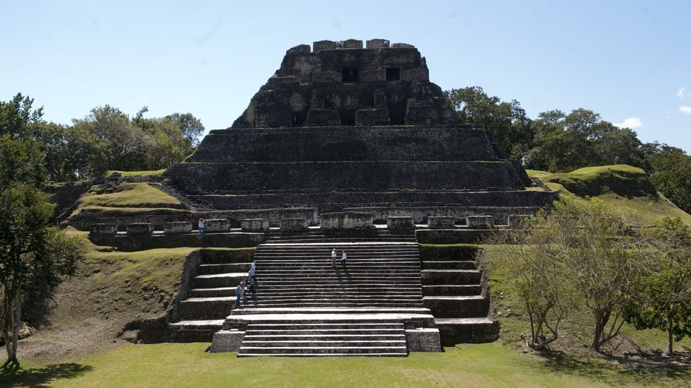 One of Central America's most successful civilisations, its ruin may have been partly caused by cutting down forests for crop land. (Copyright: Nick Pattinson)