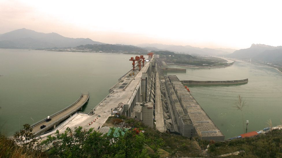 China's Three Gorges dam, the largest in the world, has been mired in controversy as it forced the relocation of 1.4 million people. (Copyright (Getty Images)