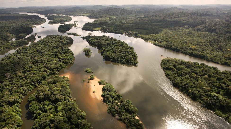 The world's third-largest hydroelectric project will divert the Xingu river, flooding as much as 230 square miles of Amazon rainforest. (Copyright: Getty Images)