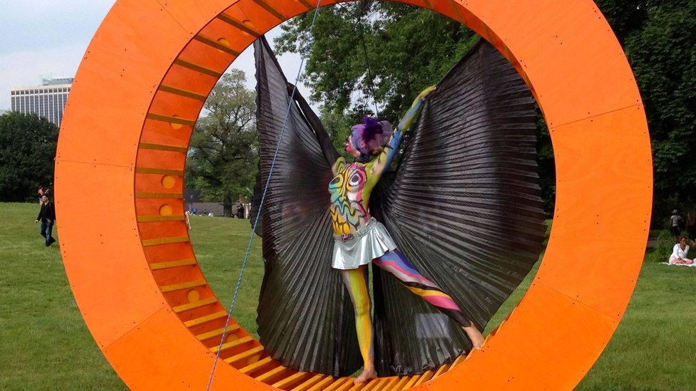 Figment, an annual grassroots participatory art festival