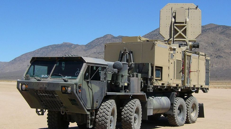 The Active Denial System was deployed to Afghanistan but was withdrawn before it was used (Copyright: JNLWP)
