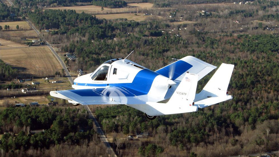 The vehicle, which also had its first successful test flight earlier this year, will require drivers to hold a Sport Pilot licence to fly. (Copyright: Terrafugia)