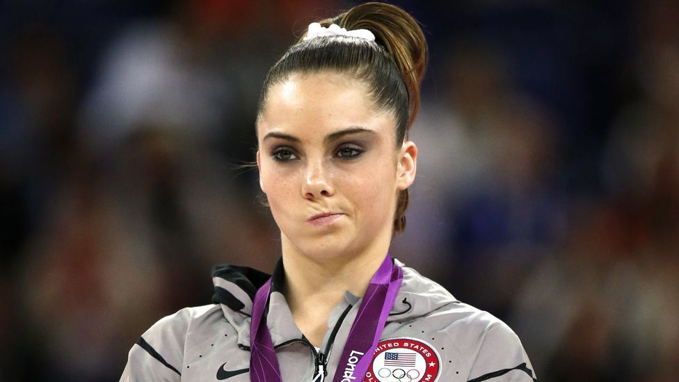 McKayla Maroney is not impressed (Copyright: Getty Images)