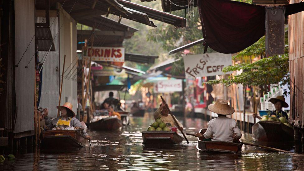 Bangkok, canals, Thailand