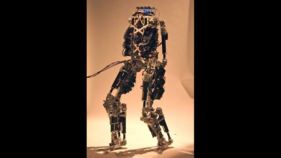 Others, such as the advanced humanoid robot Saffir, have been built as a possible way to tackle fires onboard ships run by the US Navy. (Copyright: RoMeLa)