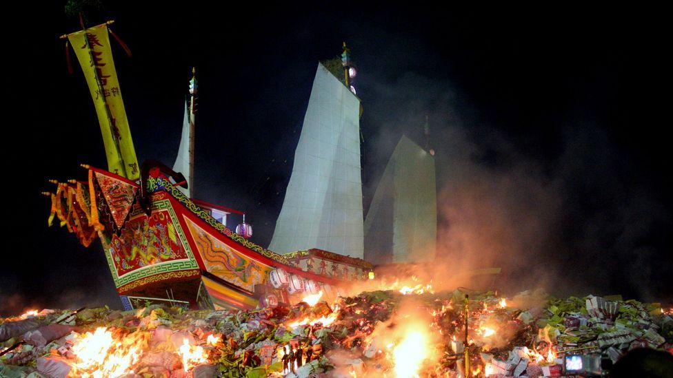 Burning of the Wang Yeh Boats Taiwan