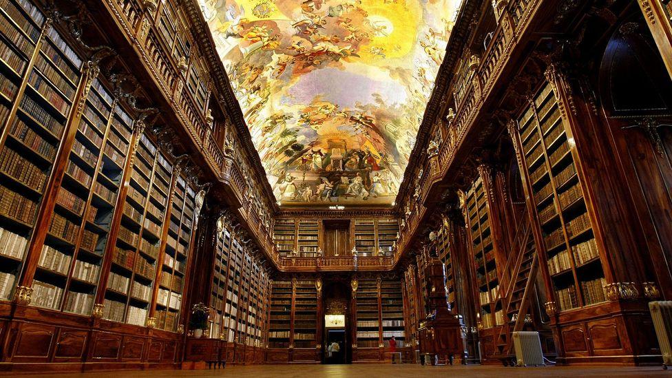 Prague's Strahov Monastery library