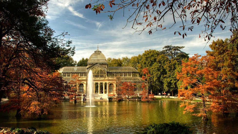 The Palacio de Cristal  can be enjoyed all year long - for free.