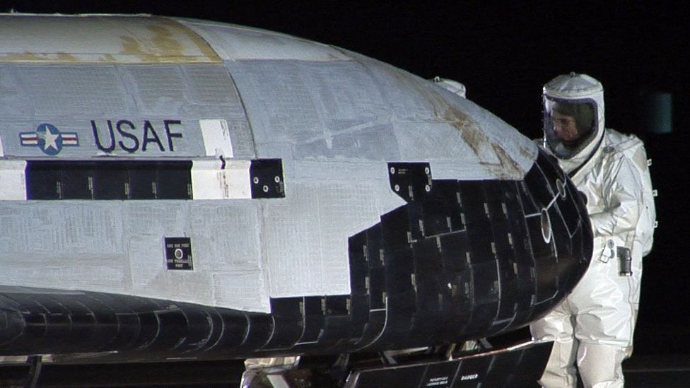 When the first X-37B touched down on 3 December 2010, it became the first US unmanned vehicle to return from space and land safely on its own. (Copyright Boeing)