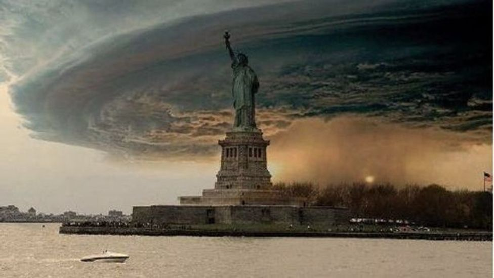 Doctored images emerged as Hurricane Sandy hit New York earlier this year. History shows this is far from the first time people have tried to manipulate our minds in this way.