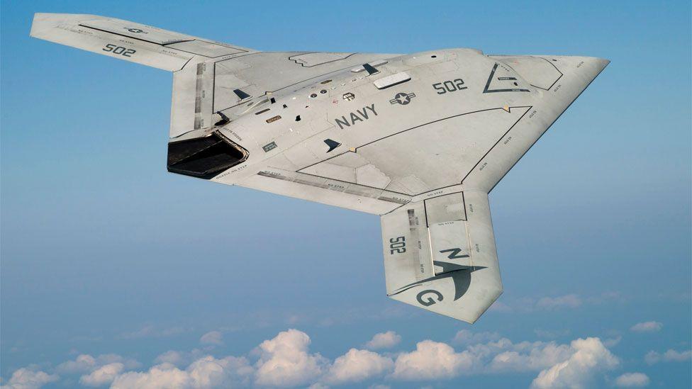 X-47B drone (Copyright: Northrop Grumman)