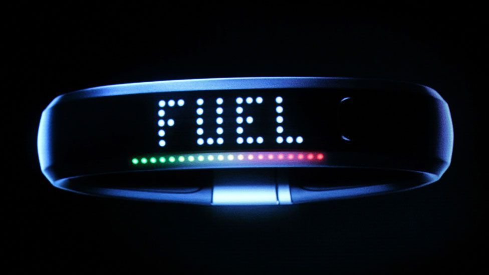 Nike's fuelband is one of several gadgets designed for the quantified self movement (Copyright: Getty Images)