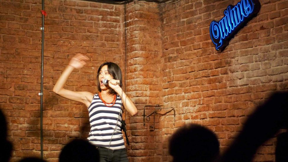 Gringo! is the first English language stand-up comedy show in Buenos Aires. (Beatrice Murch)