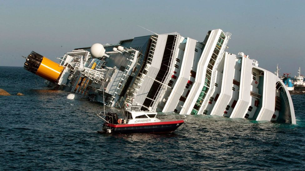 The Costa Concordia wreck, in which 11 people were killed, dominated headlines this week. (Gregorio Borgia/Associated Press)