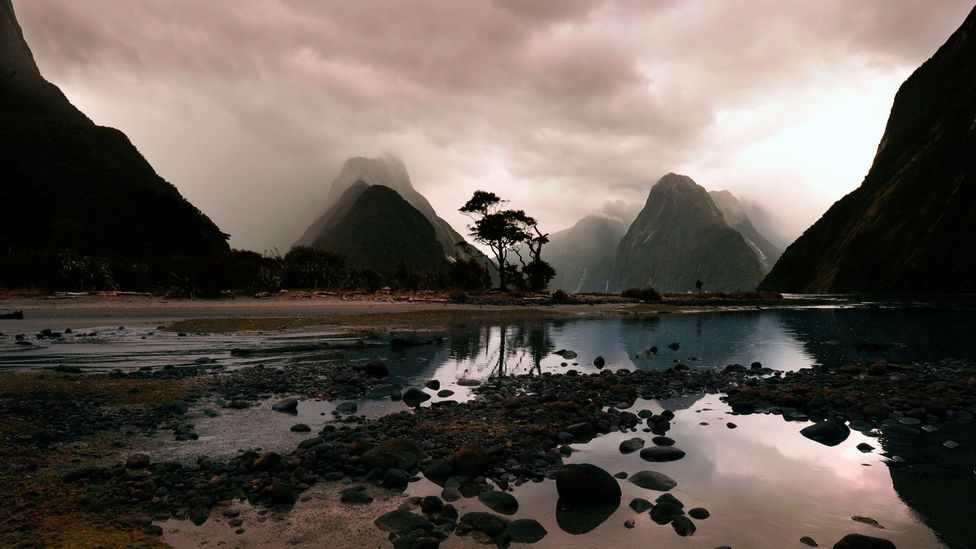 The Milford Sound's waterways are full of staggering scale and beauty. (Pete Seaward)
