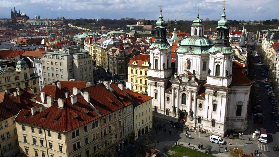 Old town of Prague. (Petr David Josek/Associated Press)
