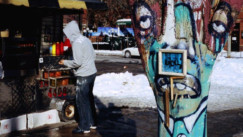 Bohemian art on Queen Street West. (Corey Wise/LPI)