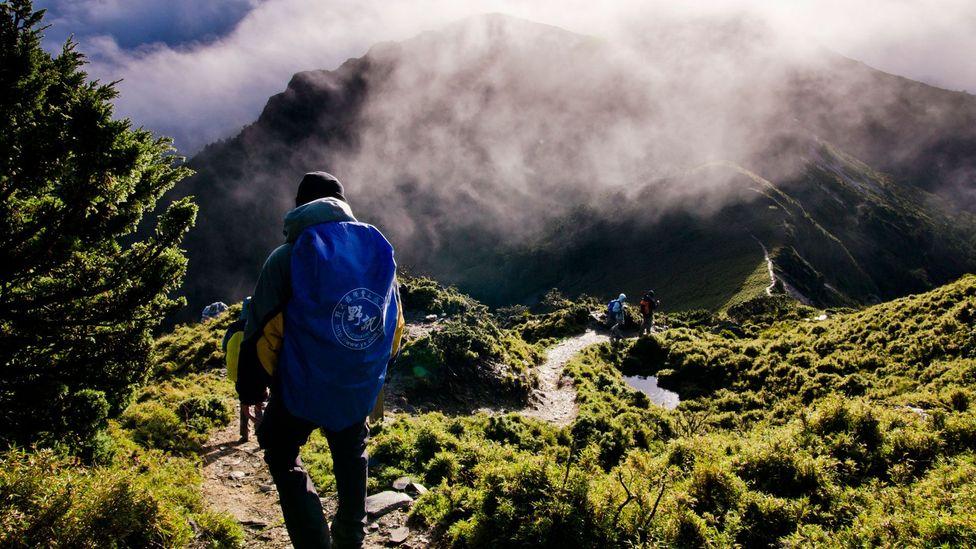Taiwan hiking