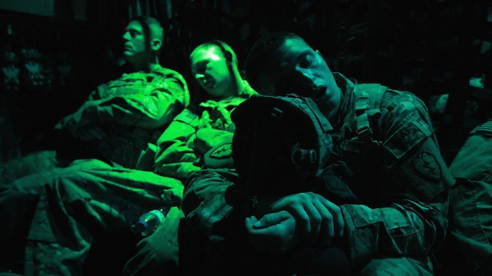 Darpa's 24/7 soldier programme from a decade ago sought to identify and strengthen parts of a soldier's brain resistant to sleep deprivation. (Copyright: Getty Images)