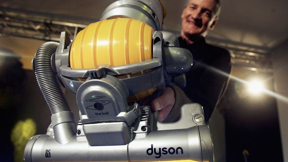 The 65-year-old designer said his products are constantly tweaked; the initial design for his first vacuum cleaner had 5,127 changes before entering production. (Copyright: Getty)