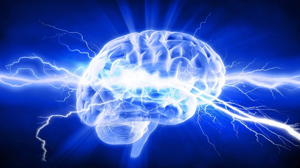 Brain with lightning (Copyright: Thinkstock)