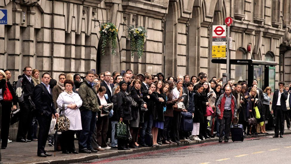 Passengers have to make sure they reach a stop in time for a scheduled service, and buses on fixed routes can be delayed because of traffic congestion. (Copyright: Getty Images)