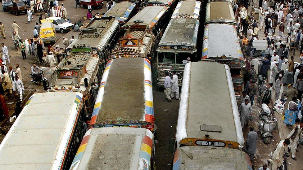 Bus routes often converge in city centres, leading to congestion and delays. (Copyright: Getty Images)