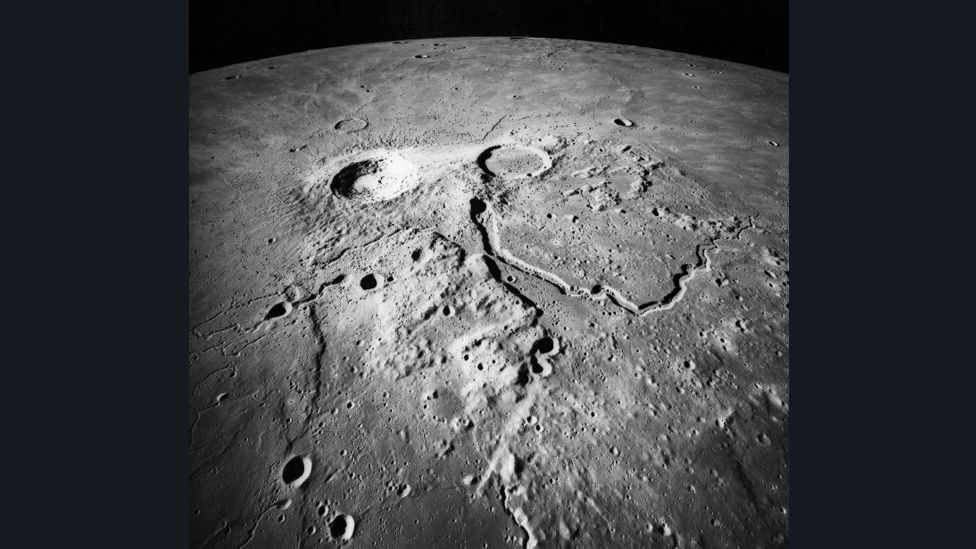 Meanwhile, Worden spent around 20 hours a day doing science, including mapping and photographing the lunar surface. (Copyright: Nasa)