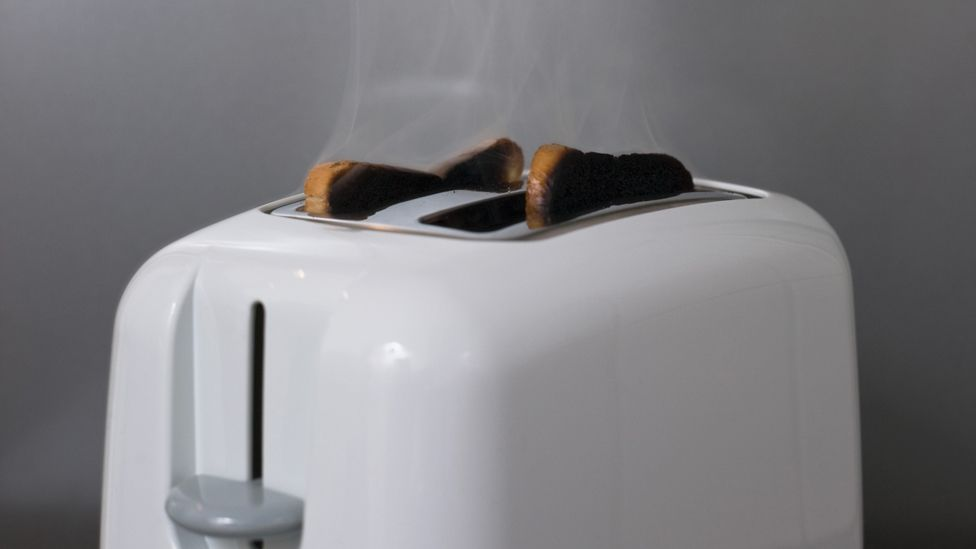 The toaster has been refined over the last century, but the basic form remains the same – and thin or thick foods can be difficult to cook evenly. (Copyright: Thinkstock)