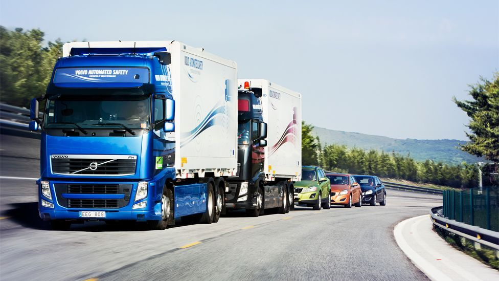 The technology is attractive as it could cut down on accidents, improve fuel efficiency and maximise the number of vehicles on the road. (Copyright: Satre)