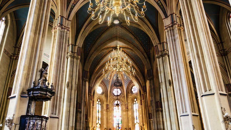 Zagreb, Croatia, Europe, Assumption of Saint Mary, church, palace, Muzej Mimara