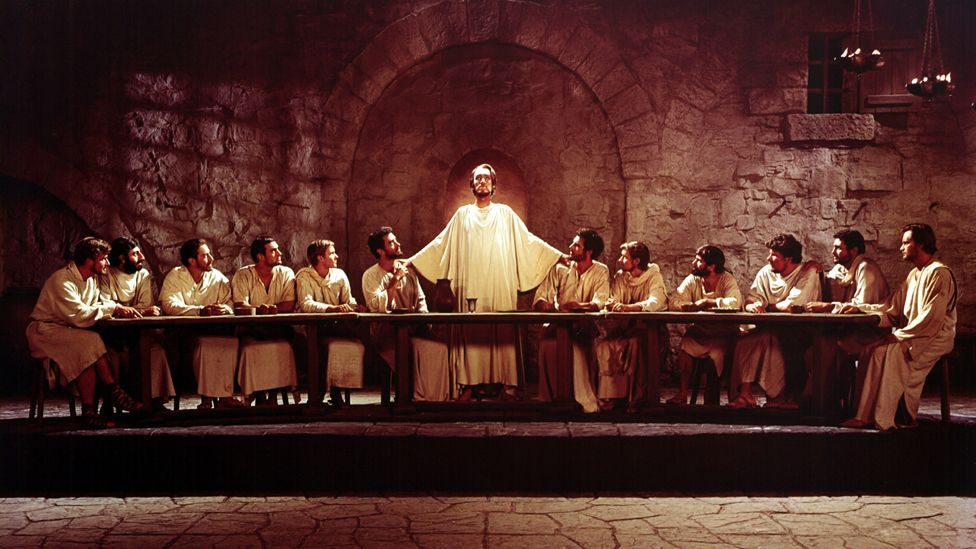 The Greatest Story Ever told follows Christ from birth to crucifixion and resurrection. It garnered five Oscar nominations in 1965. (Rex Features)