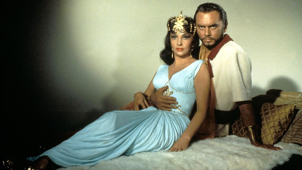 Moviegoers in 1959 were spoilt for pictures set in biblical times. Solomon and Sheba, starring Yul Brinner and Gina Lollobrigida, played at the same time as Ben-Hur. (Rex Features)