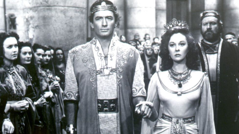 A Bible movie came top in 1951 as well, with David and Bathsheba (starring Gregory Peck and Susan Hayward) the highest-grossing film in US cinemas. (Rex Features)