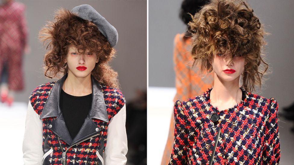 Junya Watanabe referenced punk for autumn/winter 2013 with the prolific use of tartan, a staple of the movement's style, originated by Vivienne Westwood. (Corbis)