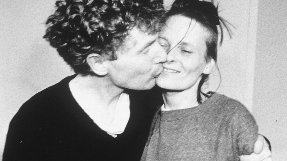 Designer Vivienne Westwood and Sex Pistols' manager Malcolm McLaren were punk's power couple, and defined the movement's look. (Richard Young/Rex)