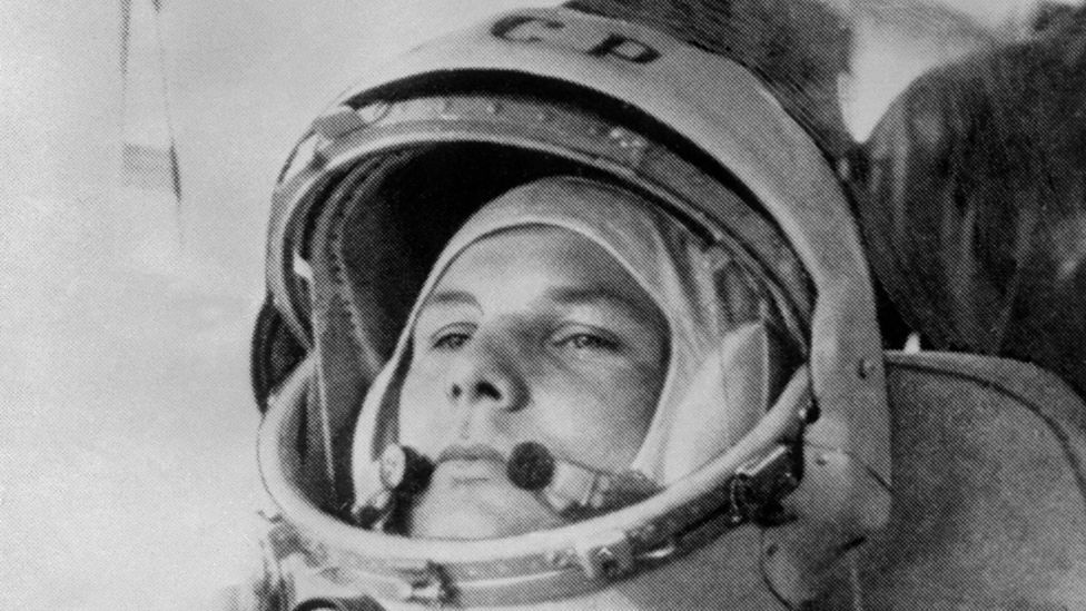 Yuri Gagarin's historic mission was delayed by technical hiccups; sat in his cramped capsule, he asked for Russian love songs to be played to him. (Copyright: Getty Images)