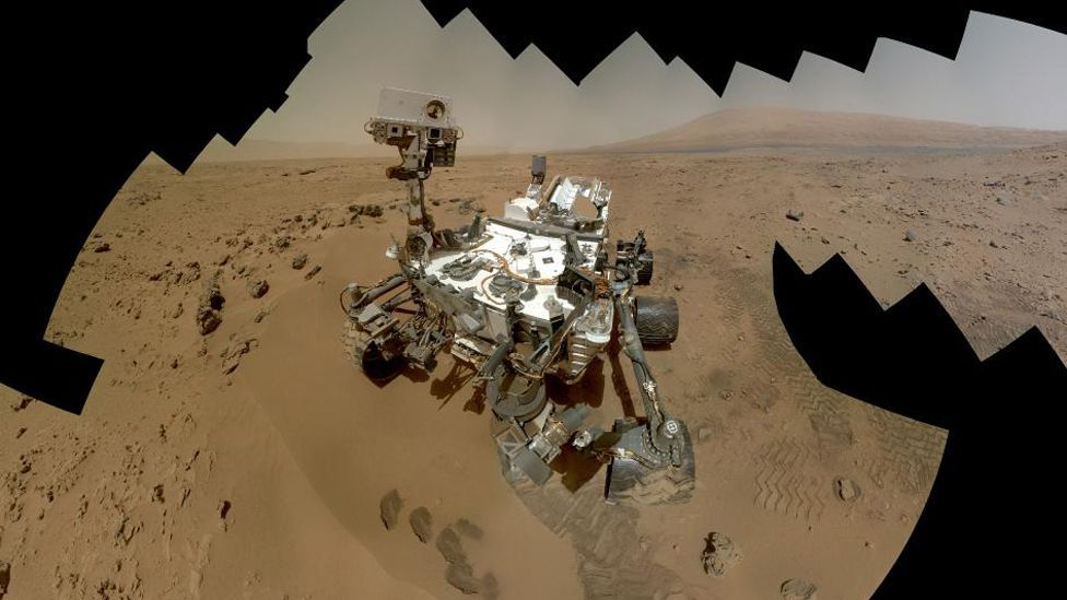 A song by Black Eyed Peas' Will.i.am became the first to be beamed to Earth from Mars when Curiosity Rover sent Reach for the Stars from the Red Planet's surface. (Copyright: Nasa)